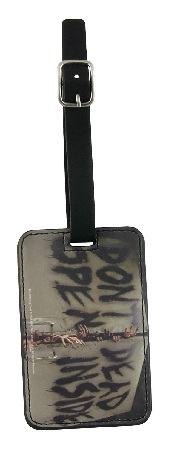 Don't Open Dead Inside Luggage Tag