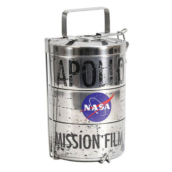 NASA Moon Landing Film Canister Lunch Tin