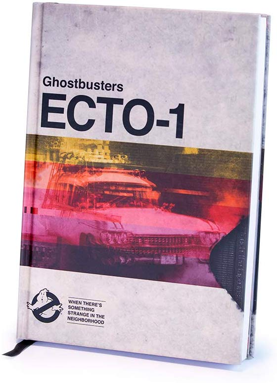 Ghostbusters ECTO-1 Journal