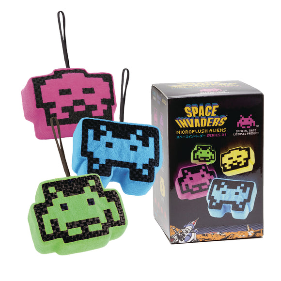Space Invaders Microplush Blind Box - Single