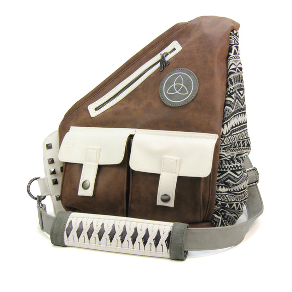 Michonne Faux Leather Sling Bag