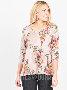 Love Top Crepe Floral