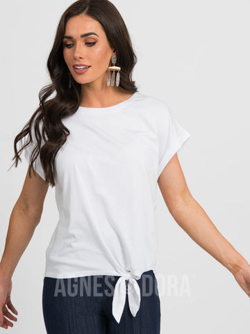Agnes & Dora™ Afternoon Tee White