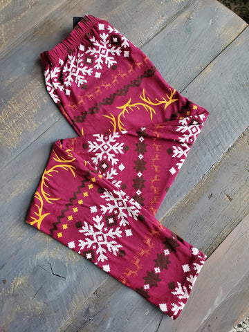 Agnes & Dora™ Leggings Reindeer Fair Isle