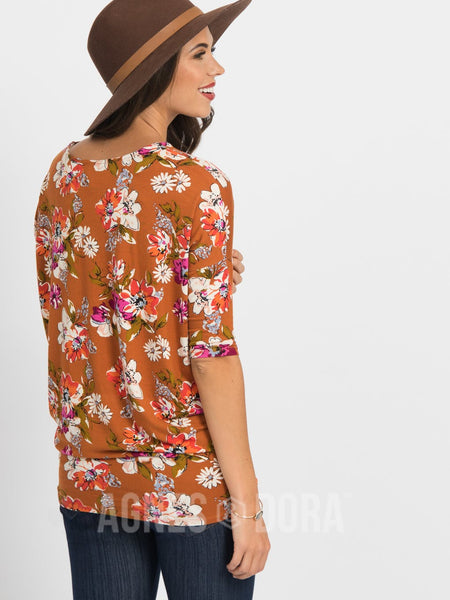 Dolman Tunic Organic Girl Copper