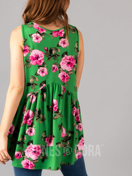 Sleeveless Muse Kelly/Fuchsia Floral