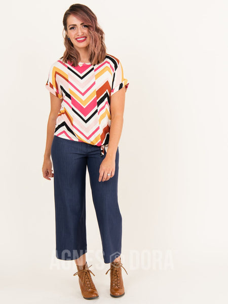 Agnes & Dora™ Afternoon Tee Off Set Chevron