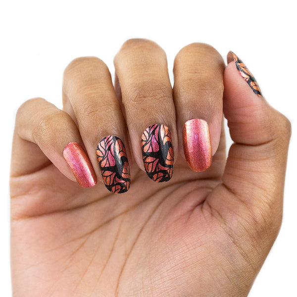 Solids and Print Nail Strips