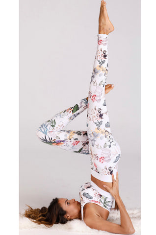 Go With The FLOral Athletic Leggings