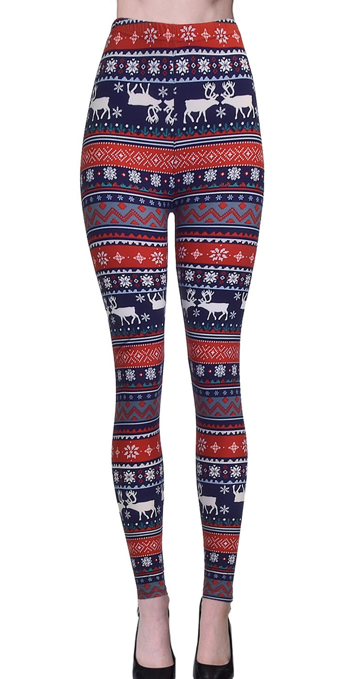Buttery Soft Holiday Legging OS and Plus