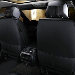 Universal Car Front Seat Mat Covers PU Leather Breathable Cushion Pad