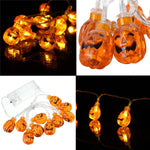 Halloween Hanging Pumpkin Light String Party House Decoration Supply Toys