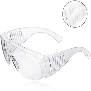 Anti-impact Lens Safety Goggles Anti Fog Dust Proof Goggles Transparent Glasses Eyewear for Eyes Protection