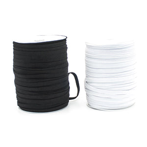 3/5/6mm Elastic Band Cord Knits 100 Meter Length Mouth Hat Stretch DIY Sewing