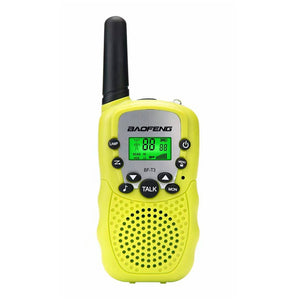2PCS Baofeng BF-T3 Radio Walkie Talkie UHF462-467MHz 8 Channel Two-Way Radio Transceiver Built-in Flashlight 5 Colors