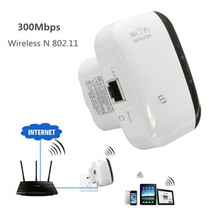 Bakeey 300M Wireless-N Wifi Repeater Router Signal Booster Extender Amplifier