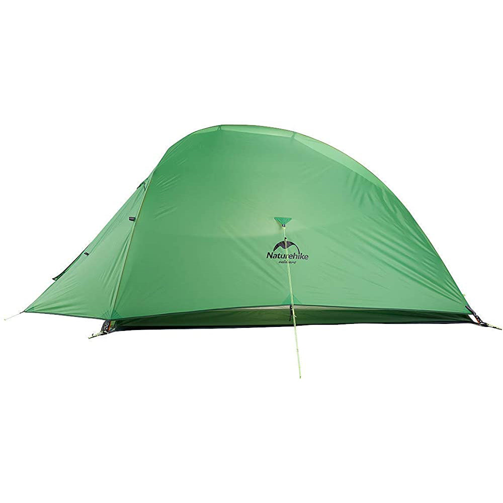 Naturehike Cloud-Up 2 People Lightweight Backpacking Tent 210T RipStop 4 Season Dome Tent Double Layers PU 3000mm Water Resistant with Footprint for Camping Hiking