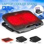 Bakeey Adjustable Speed Laptop Stand Laptop Cooler Heat Dissipation For 13.0-17.0 Inch Laptop Notebook MacBook Air MacBook Pro