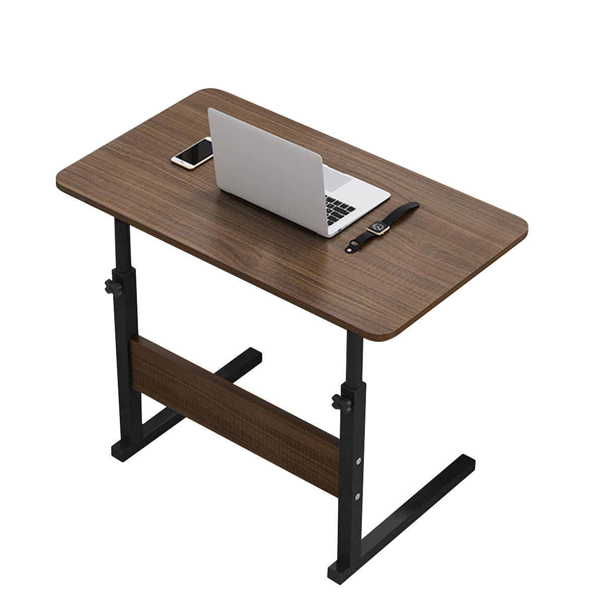 Multifunctional Movable Bedside Laptop Desk Wooden Computer Table Study Table Computer Stand