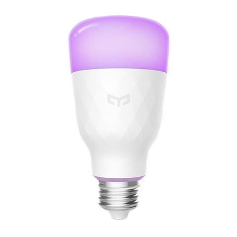 Yeelight YLDP06YL E26 E27 10W RGBW Smart LED Bulb Work With Amazon Alexa AC100-240V