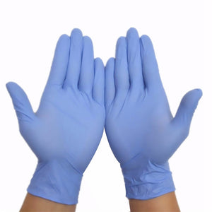 100pcs Acid Alkali Extra Strong Free Nitrile Disposable Gloves Electronics Food Laboratory