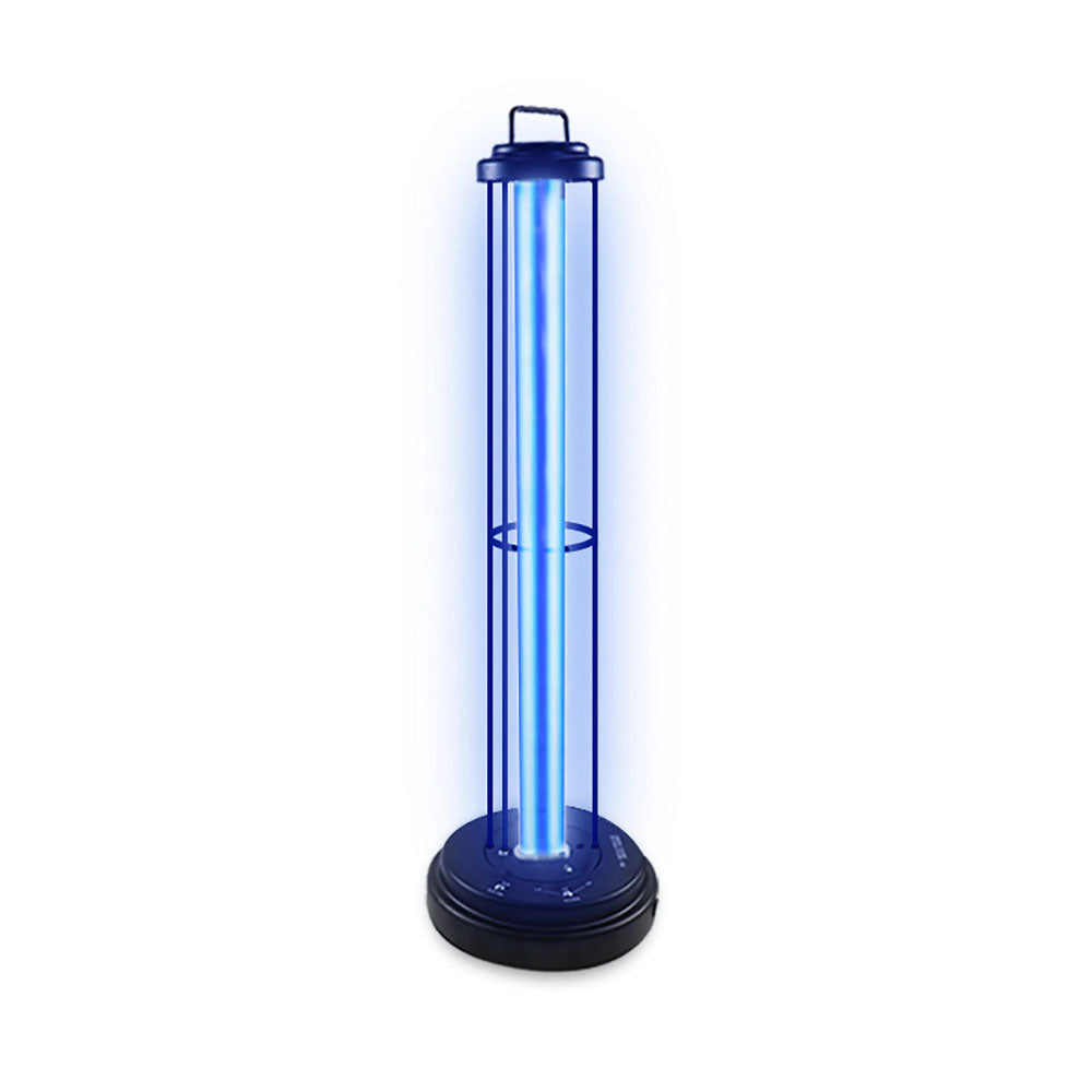 220V/110V 60W UV Sterilizer Lamp Removable Disinfection Lamp Timer Remote Control Germicidal Ozone Lamp