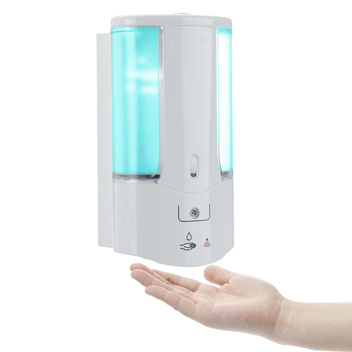 Bakeey Automatic Sensor Hand Free Soap Dispenser Shampoo Bathroom Wall Mounted