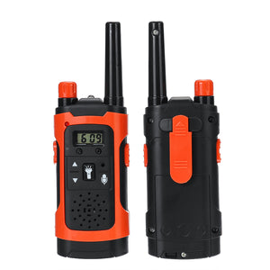 2PCS Portable Outdoor HD Call Wireless Children Walkie Talkie Intercom Electronic Toys with LED Light