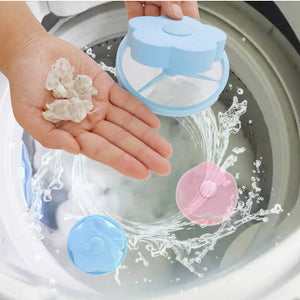 Washing Machine Hair Lint Remover Cleaning Bag Laundry Ball