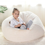 NESLOTH XL Large Bean Bag Chair Cover Indoor Lazy Manmade Rabbit Fur Sofa For Adult Kids 70*80 Bean Bag Cover Containing Inner Liner Cover