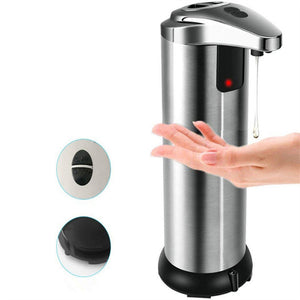 Automatic Soap Dispenser Touchless Double Switch Stainless Steel Motion Sensor