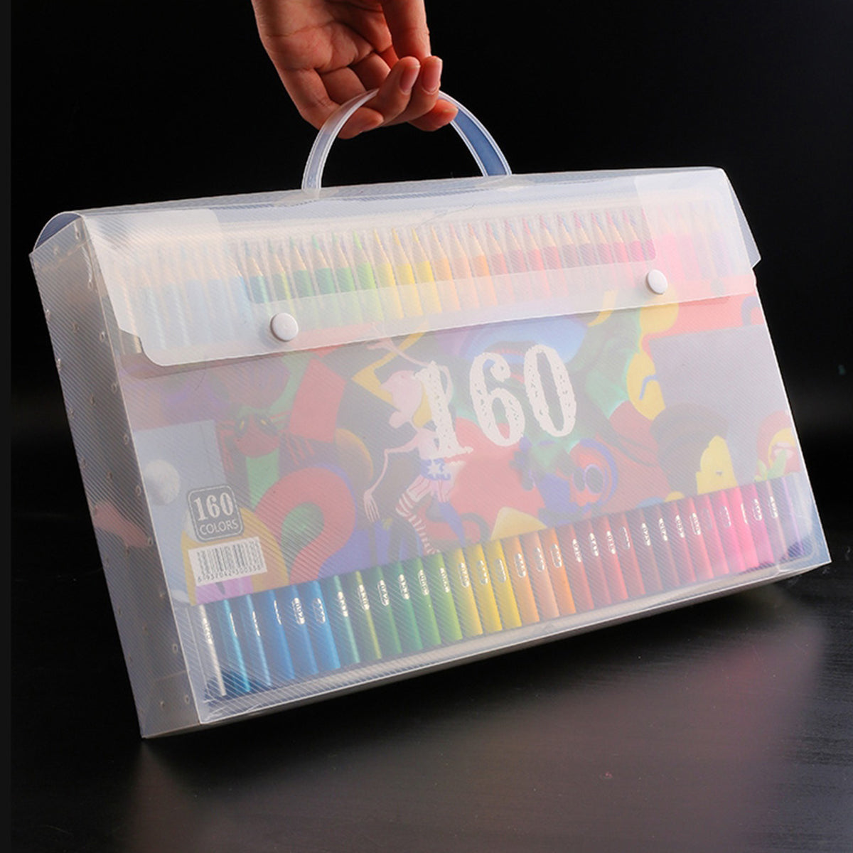 Professional Oil Colored Pencils Set Artist Painting Sketching Wood Color Pencil School Art Supplies 48/72/120/160 Colors