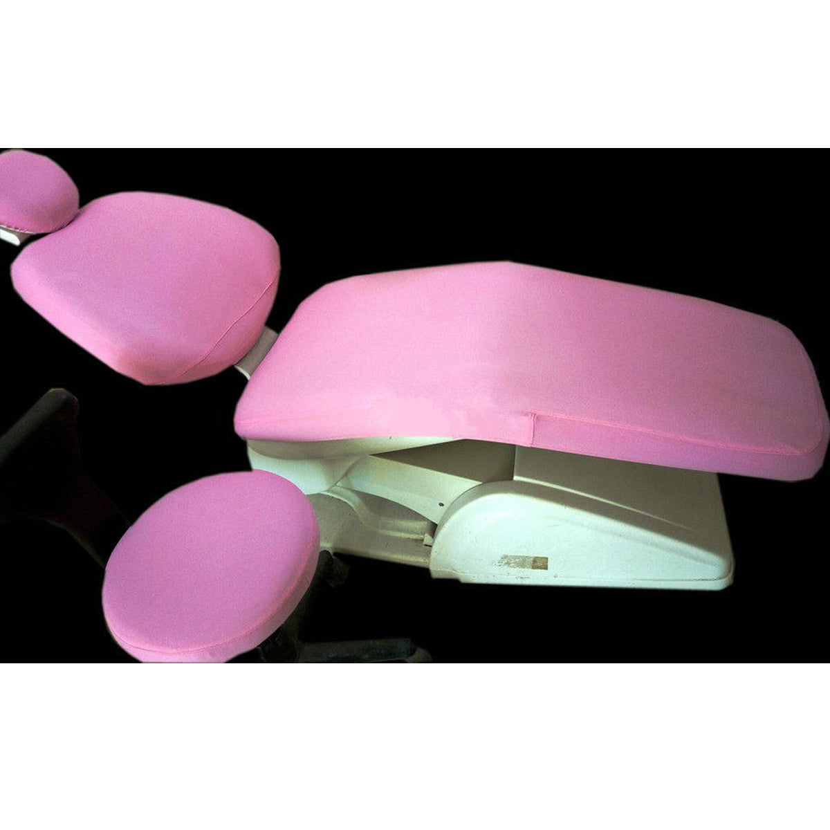 1 Set Washable Elastic Dental Unit Cover Cloth Dentist Chair Headrest Protector Sleeves Tools