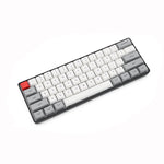 Geek Customized SK61 60% 61 Keys NKRO Gateron Optical Axis Type-C Wired RGB Backlight Mechanical Gaming Keyboard