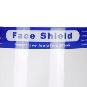 Full Face Mask Covering Shield Anti-Fog Protection Work Guards Clear Glasses