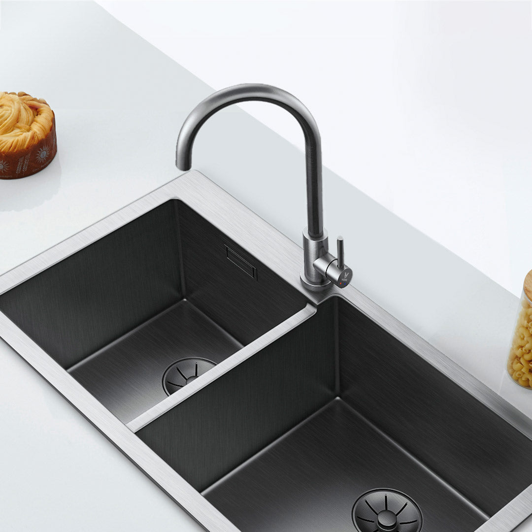 Viomi Stainless Steel Kitchen Basin Sink Faucet Tap 360° Rotation Hot Cold Mixer Tap Single Handle Deck Mount Aerater from Xiaomi Youpin