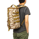 ZANLURE 23L Fishing Backpack Fishing Tool Bag Outdoor Multifunction Storage Bag Shoulder Bag