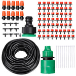 33/133/91/191Pcs Automatic Drip Irrigation Controller System Kit Micro Sprinkler Garden Watering