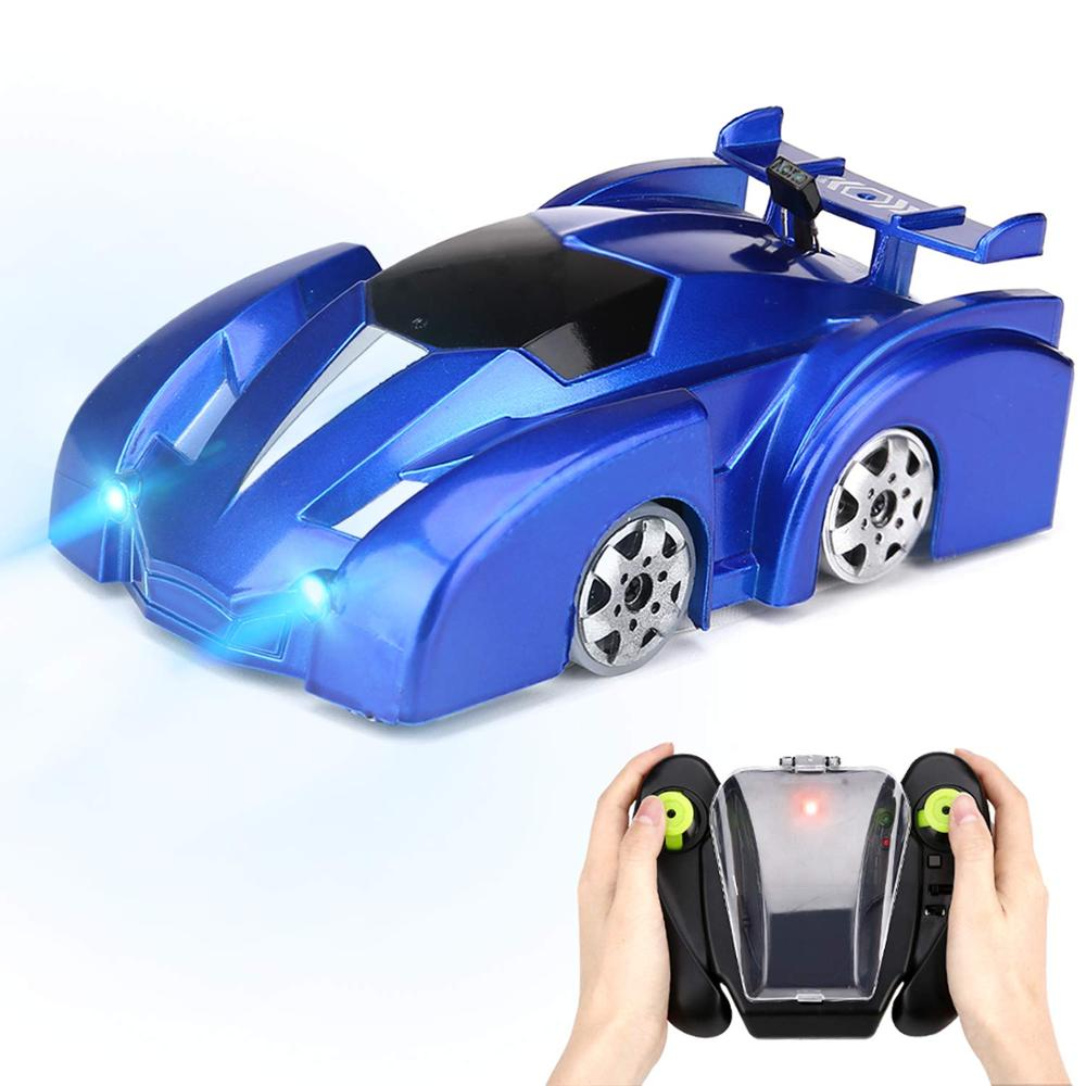 VinJoyce Anti Gravity Ceiling Climbing Car Electric 360 Rotating Stunt RC Car Antigravity Machine Auto Toy Cars with Remote Control