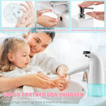 VinJoyce 250ML Automatic Foaming Soap Dispenser Touchless Induction Liquid Foam Infrared Sensor Hand Washing for Bathroom Kitchen Toilet Office Hotel School Restaurant