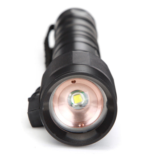 MECO  T6 3600LM Zoomable LED Flashlight 2x18650