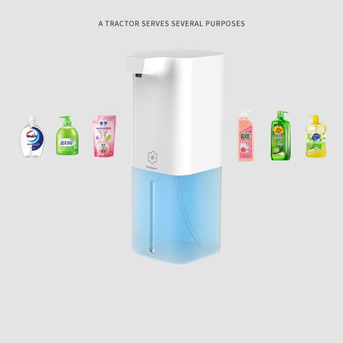 VinJoyce 350ML Automatic Foaming Soap Dispenser USB Rechargable Touchless Electric Soap Dispenser for Home Office Bathroom Kitchen Toilet Office Hotel School Hospital