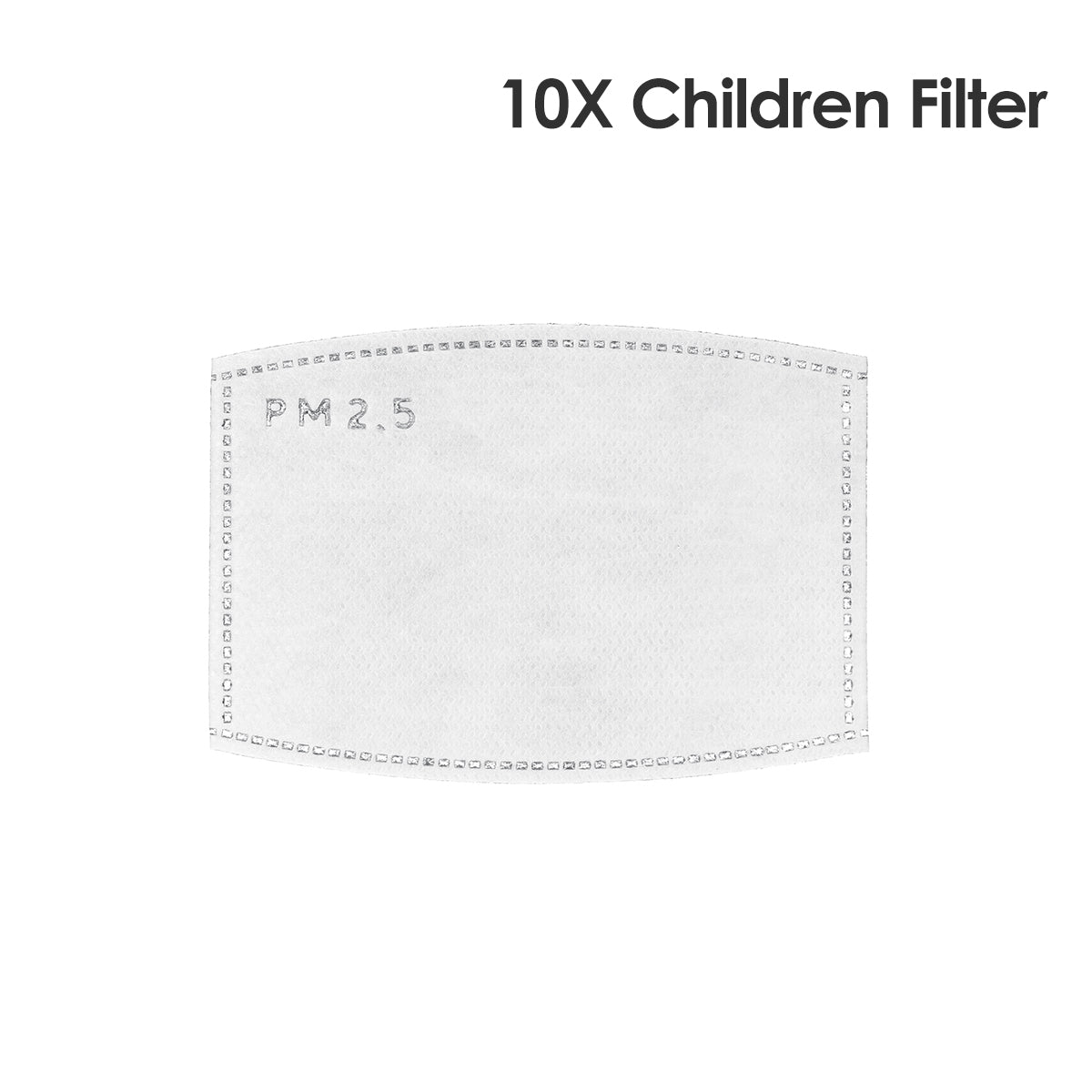 Children Kid Face Mask Valved Anti-dust Filter Mask Washable with 10x Filters