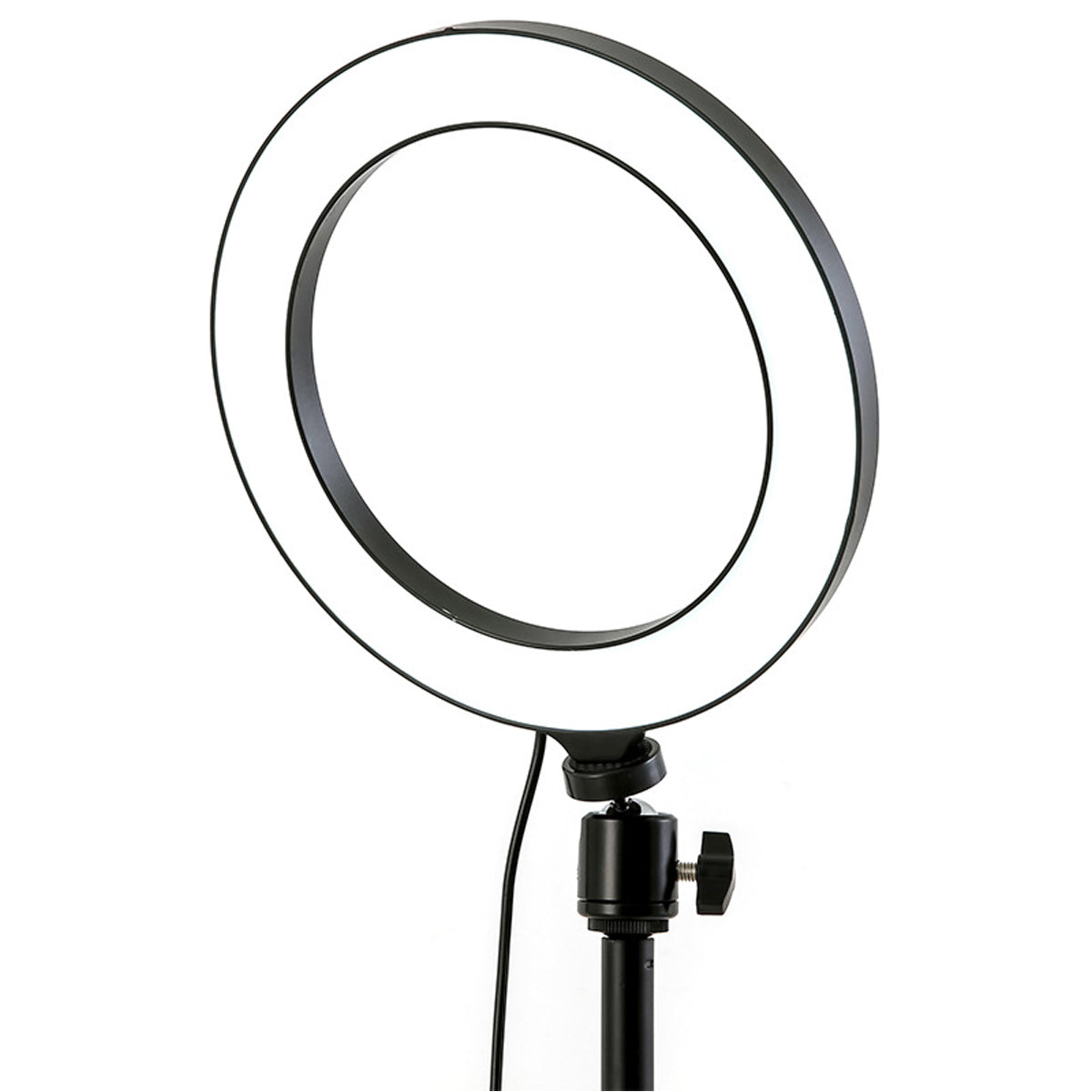 Ring Fill Light Lamp 12W Live Light USB Power Flat Ring Light LED Lamp with Phone Holder