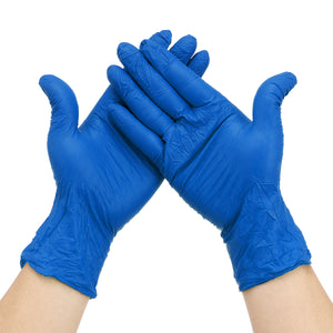 100Pcs Gloves Disposable Nitrile Gloves Powder Free Food Grade Gloves Latex Free Professional Grade for Healthcare Food Handling Work Glove