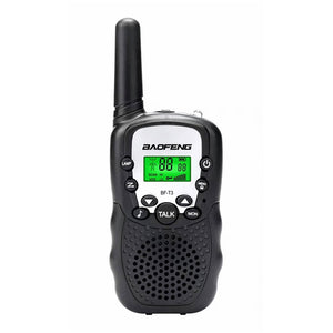 2Pcs Baofeng BF-T3 Radio Walkie Talkie UHF462-467MHz 8 Channel Two-Way Radio Transceiver Built-in Flashlight 5 Color for Choice