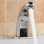 Automatic Sink Mixers Sensor Tap Hands Free Infrared Water Kitchen Bathroom Basin Faucet