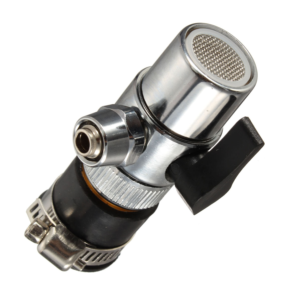 Water Saving Bubbler Faucet Kitchen Bathroom Aerator Rotating Nozzle Diverter Filter Valve Connector