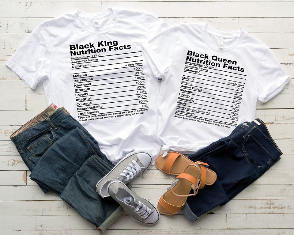 Adult Black Queen Nutrition Facts