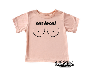 Infant/Toddler Tee- Eat Local